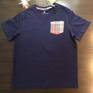 Tailor Vintage Madras Pocket Tee